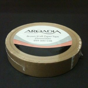 NEW PICTURE FRAME BACKING TAPE BROWN FRAMING/CRAFT USE 25MM X 50M