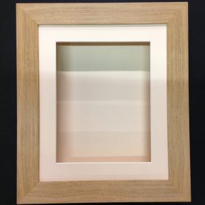 10×8 OAK EFFECT (55mm) DEEP 3D SHADOW BOX,CASTS,FLOWERS,MEDALS,3D FRAMING